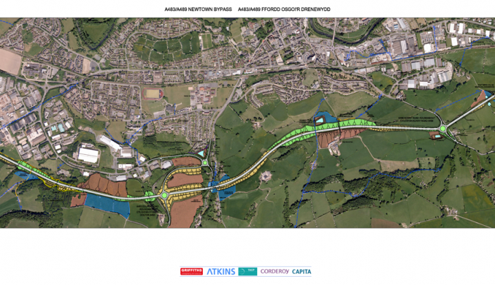 newtown bypass scheme layout