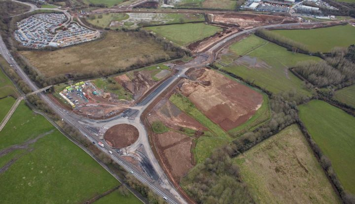 New A370 Roundabout 05/02/16
