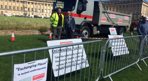 bath event exchanging places