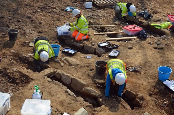 graves being uncovered